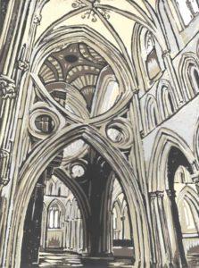 Scissor Arch print 15x20cm
